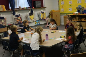 PreK/K gets down to business