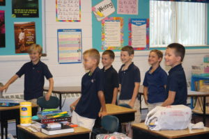 Look at all those boys in 3rd/4th grade!