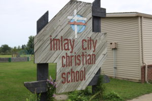 You could have your start of school picture taken in front of this sign too!