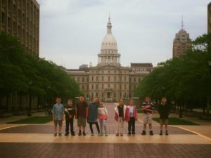 Trip to the State Capitol